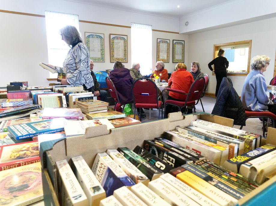 Kilmartin Bookswap - our book collection
